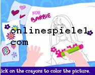 Color with Kelly kostenlose Barbie spiele